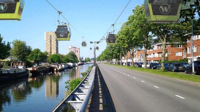 Gemeente steunt onderzoek naar kabelbaan Oosterhamriktracé