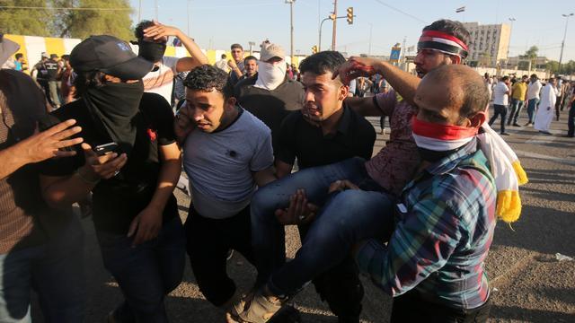 Doden en tientallen gewonden bij bestorming 'Green Zone' in Bagdad