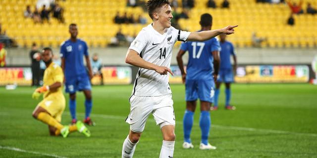 Thomas (PEC) en Williams (RKC) met Nieuw-Zeeland naar Confederations Cup