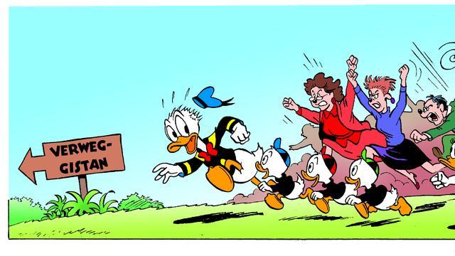Verweggistan is leukste woord uit Duckstad