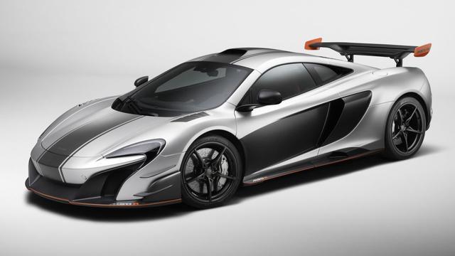 In opdracht van klant: McLaren MSO R