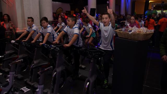 CycleSensation blijkt naast goed doel ook sportief evenement