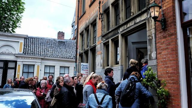 Open Joodse Huizen in Groningen trekt ruim achthonderd bezoekers