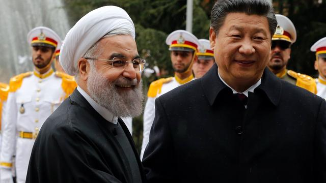 China en Iran zijn het eens over uitbreiden handelsakkoord