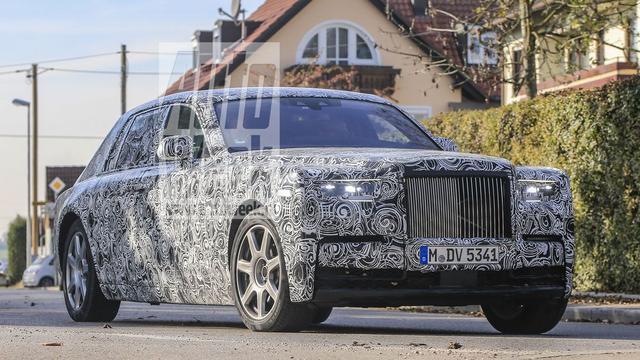 Spyshots nieuwe Rolls-Royce