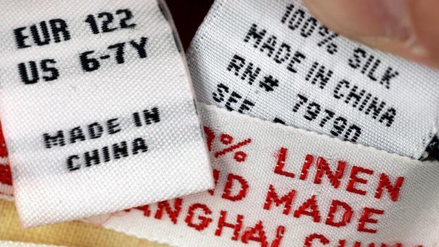 'Deel van kleding met label 'made in China' komt uit Noord-Korea'