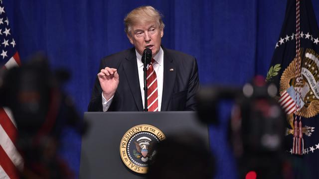 Europese media schrijven volgens Trump niet over terroristische aanslagen