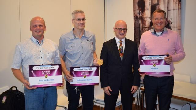 Arie van der Schoor winnaar Alphense Duurzaamheidspenning
