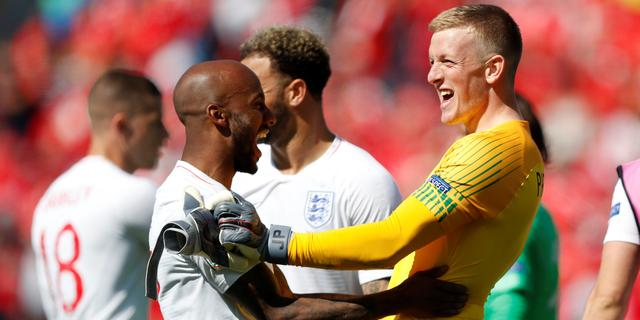 Engeland klopt Zwitsers na penalty's in matige troostfinale Nations League