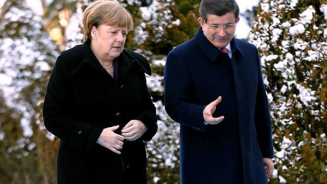 Hulpactie van Duitsland en Turkije voor vluchtelingen