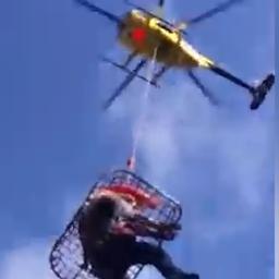 Vermiste Hawaïaanse na 17 dagen met helikopter gered uit bos