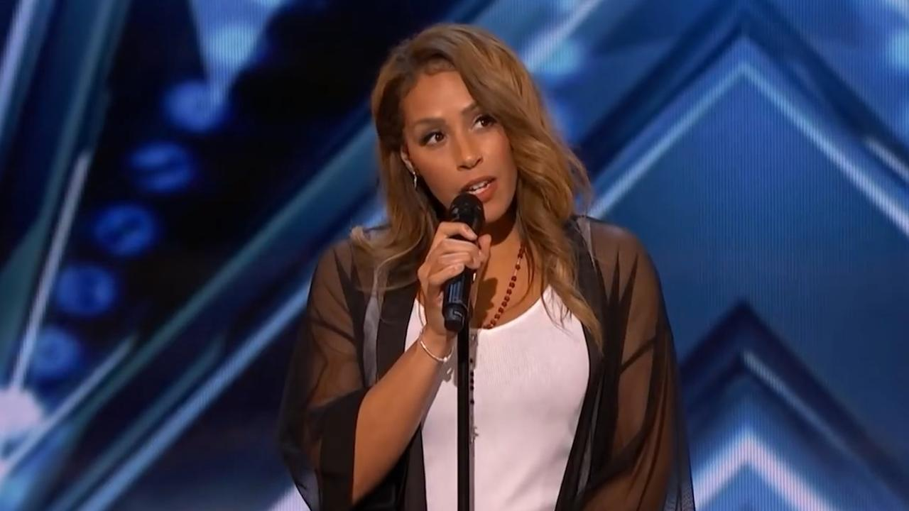 Glennis Grace doet auditie voor America's Got Talent