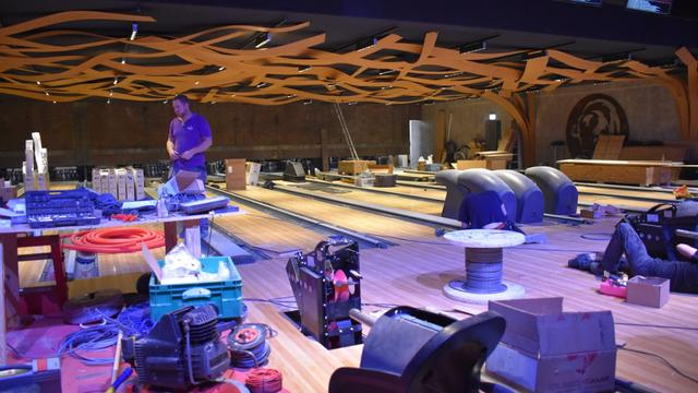 Bison Bowling is compleet verbouwd