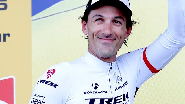 Cancellara hervat training na val in Tour de France