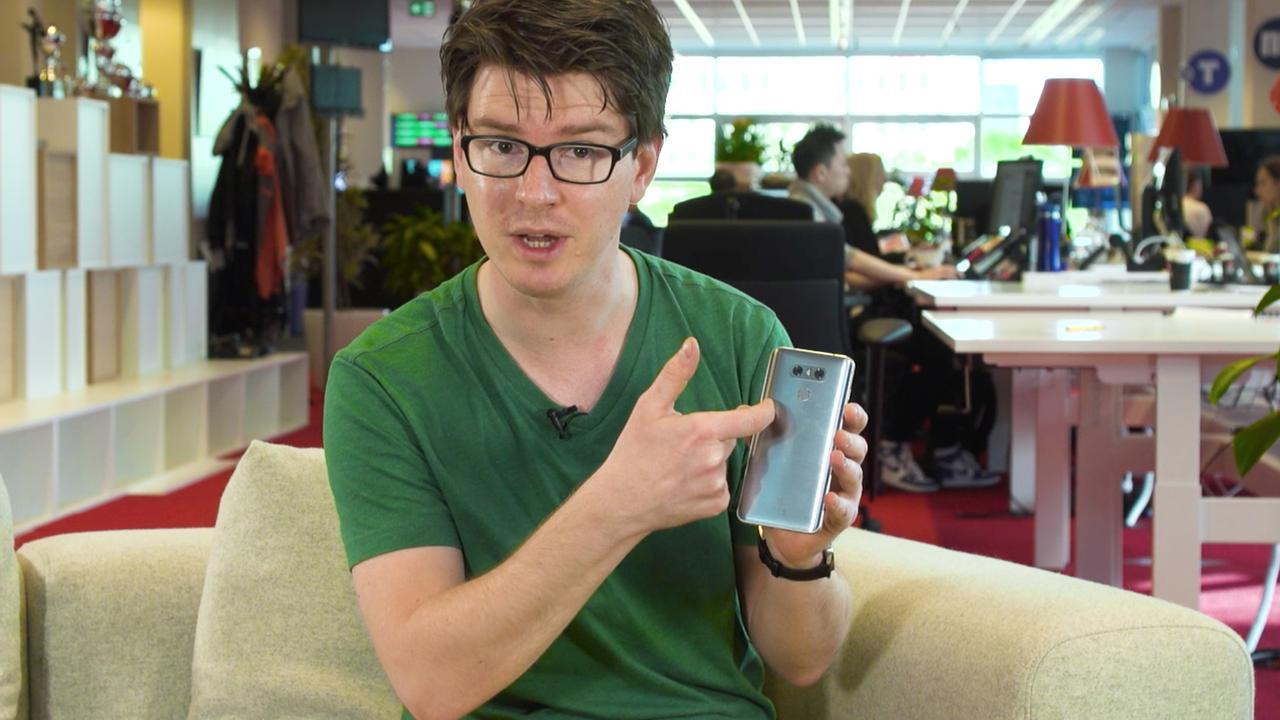 Review: LG G6 met zeer dunne schermranden