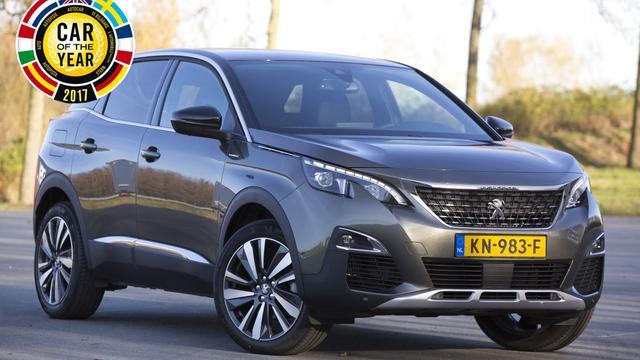 Peugeot 3008 verkozen tot Auto van het Jaar 2017