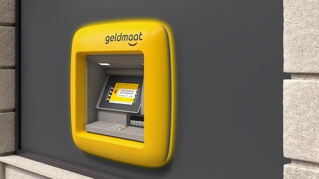 Pinautomaat heet straks 'Geldmaat' en wordt geel van kleur