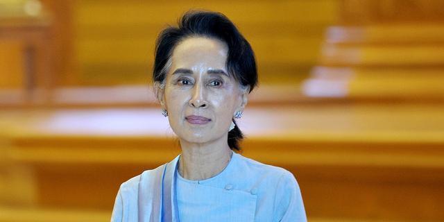 Myanmarese leider Suu Kyi veroordeelt 'alle schendingen van mensenrechten'