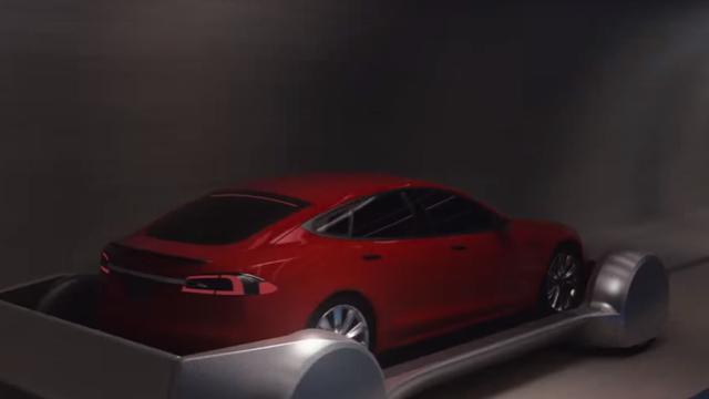 Musk toont concept van ondergrondse snelwegen tegen fileprobleem