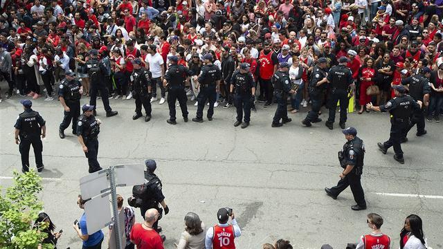 Gewonden bij schietpartij tijdens huldiging NBA-kampioen Toronto Raptors