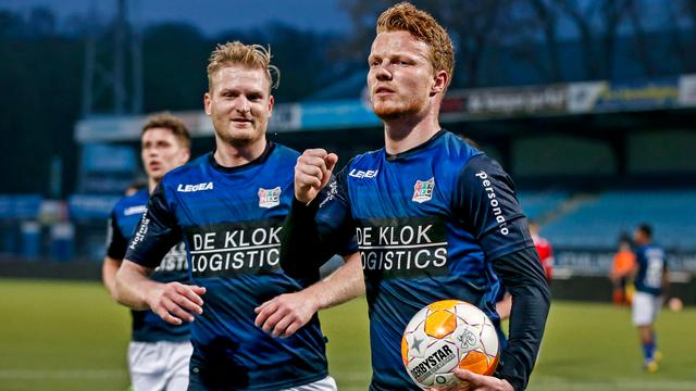 NEC wint tegen Jong PSV eerste wedstrijd onder leiding van De Groot