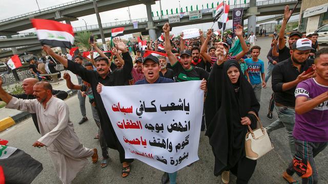Veertig doden bij protesten in Iraakse hoofdstad Bagdad