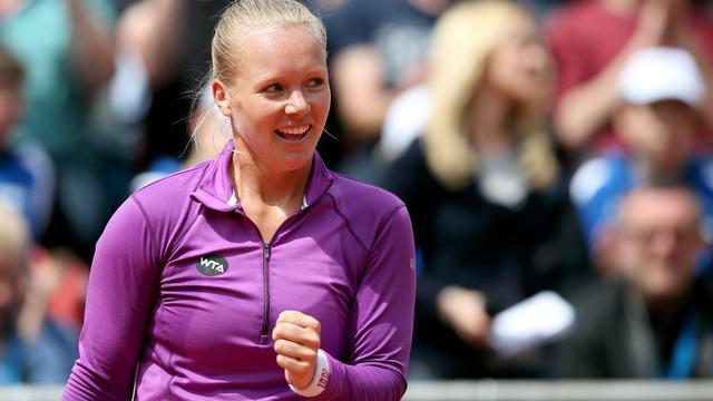 Bertens voor vijfde keer in loopbaan in halve finale WTA-toernooi