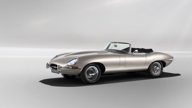 Jaguar bouwt klassieke E-Type toch niet om tot volledig elektrische auto