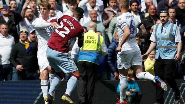 El Ghazi niet geschorst voor rode kaart in tumultueus duel Leeds-Villa
