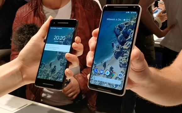 Eerste indruk van nieuwe Pixel-telefoons Google