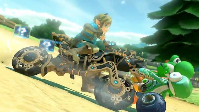 Nintendo voegt Link uit Breath of the Wild toe aan Mario Kart