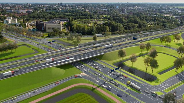 Kap van bijna negenduizend bomen voor de Rijnlandroute gaat door
