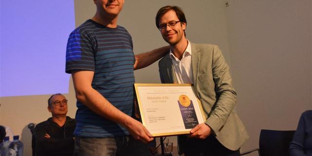 Spieghelsbier van Brouwerij Pronck wint gouden plak