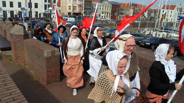 Vlissingen viert Pasen met historische activiteiten