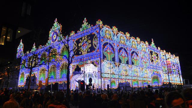 Recordaantal bezoekers voor lichtfestival Glow in Eindhoven