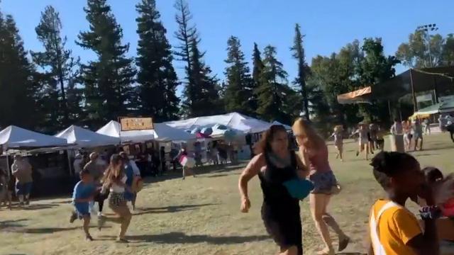 Vier doden bij schietpartij op festival in Californië, zoektocht naar verdachte