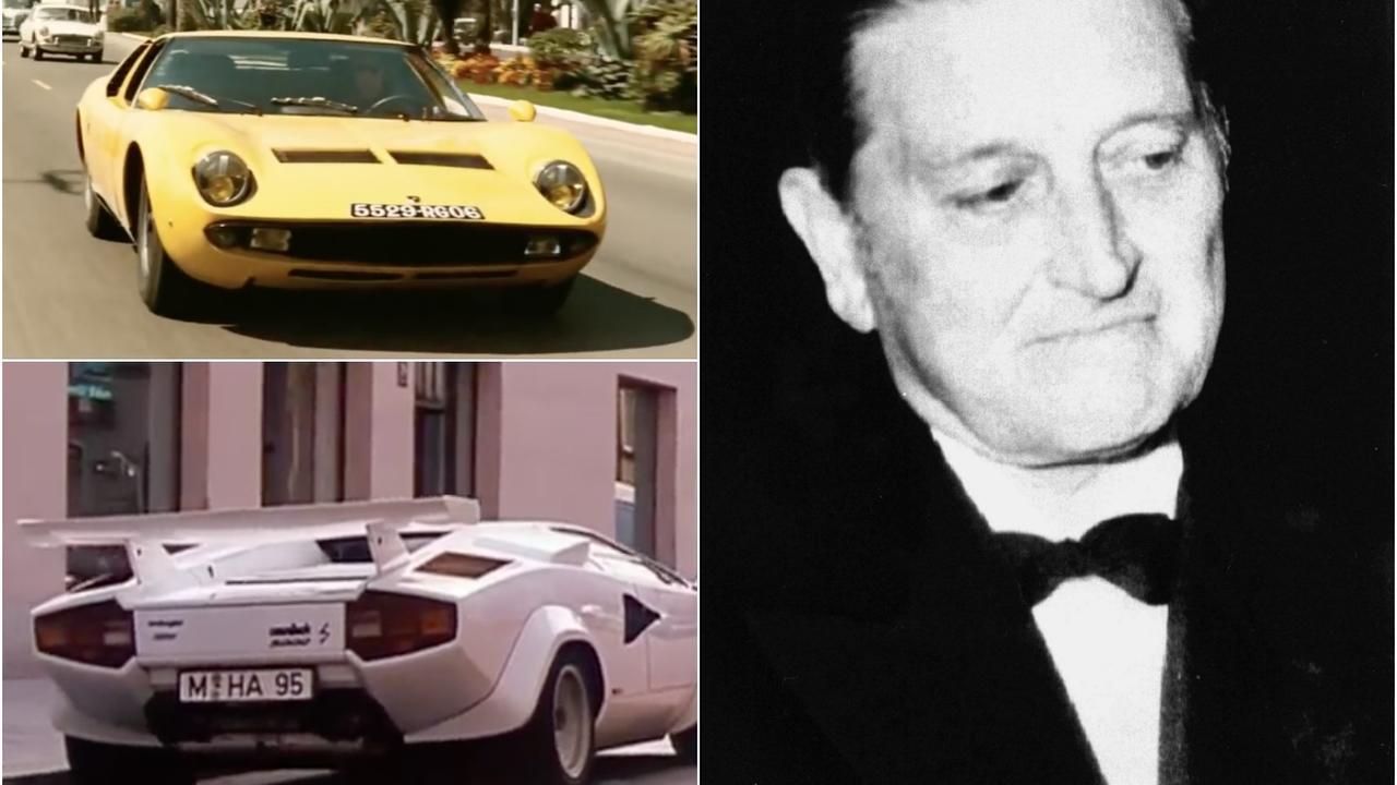 Oprichter Lamborghini 25 jaar dood, drie klassieke modellen