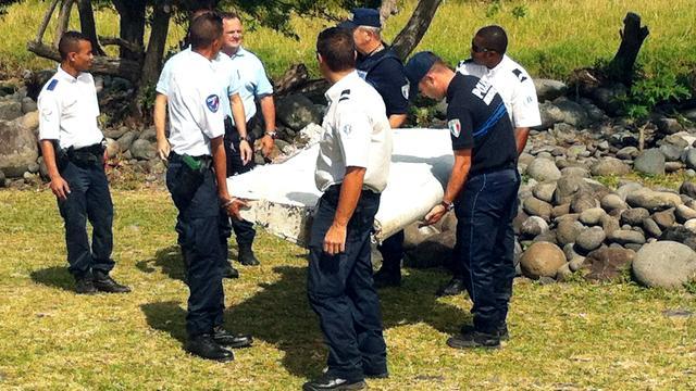 Wrakstuk van vliegtuig aangespoeld op Frans eiland Réunion