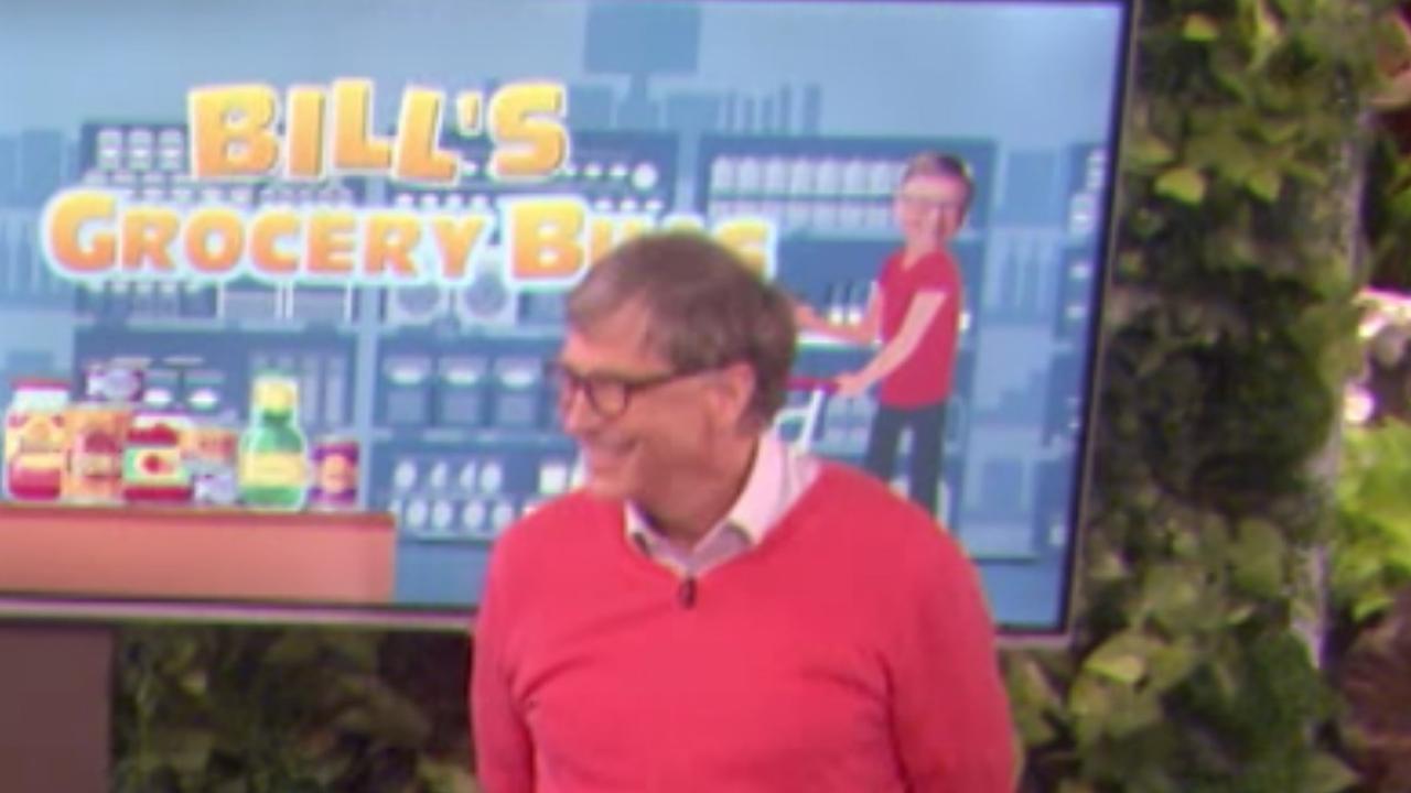 Bill Gates probeert prijzen van alledaagse boodschappen te raden