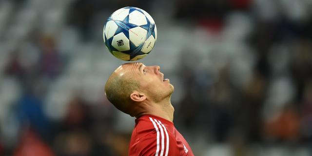 Robben maakt kans op plek in FIFA-elftal 2015