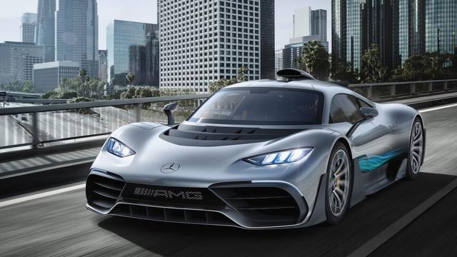 Mercedes-AMG presenteert 'hypercar' met Formule 1-techniek