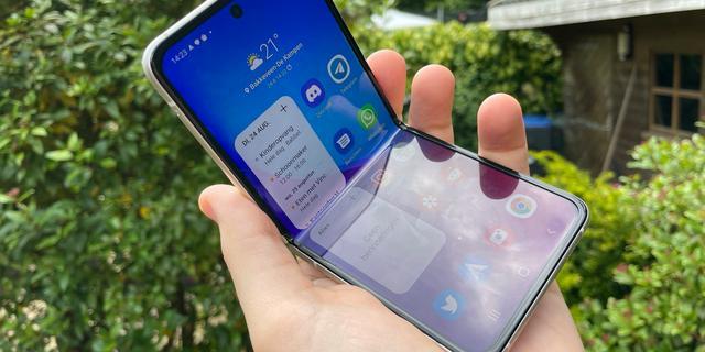 Review: Samsung Galaxy Z Flip 3 maakt opvouwtelefoons iets betaalbaarder