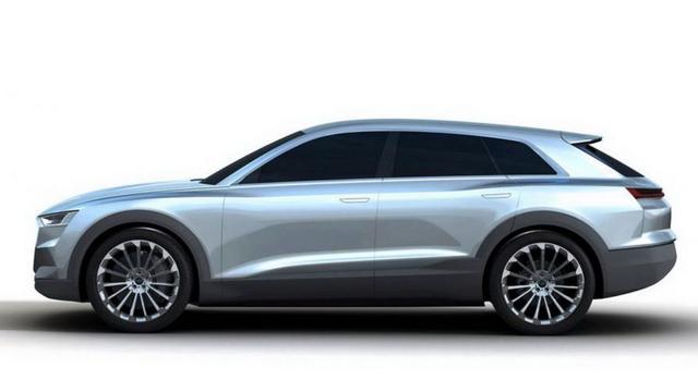Audi C-BEV lekt op internet