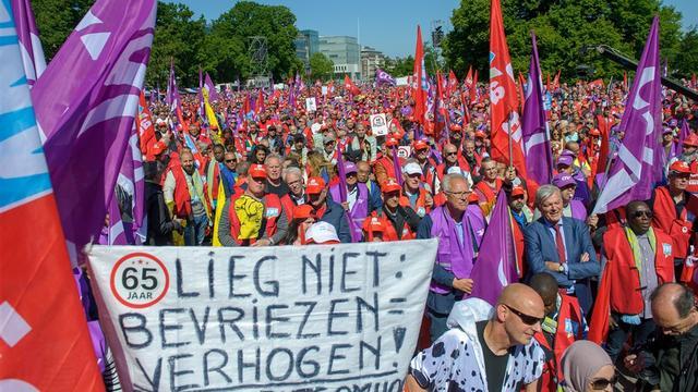 Acties tegen hogere pensioenleeftijd | Afscheid Niki Lauda