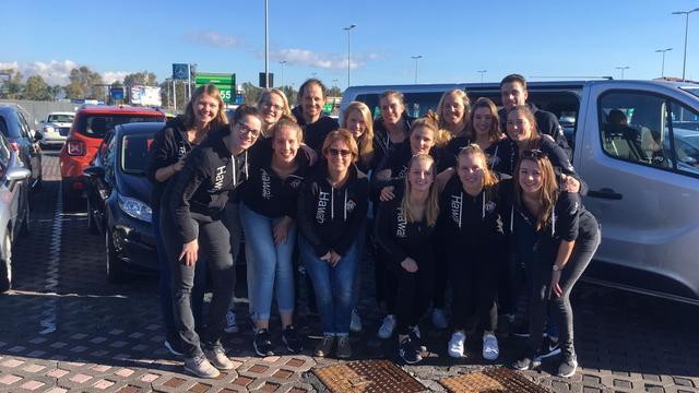Waterpolo-dames naar Italië voor tweede ronde Europa Cup