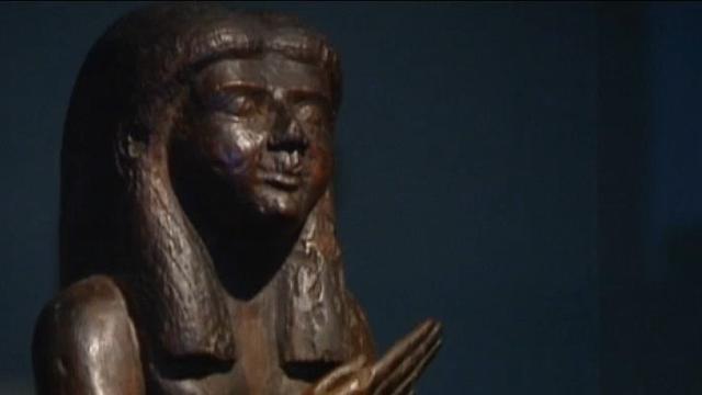 Eeuwenoud Egyptisch beeldje nieuw pronkstuk Allard Pierson Museum