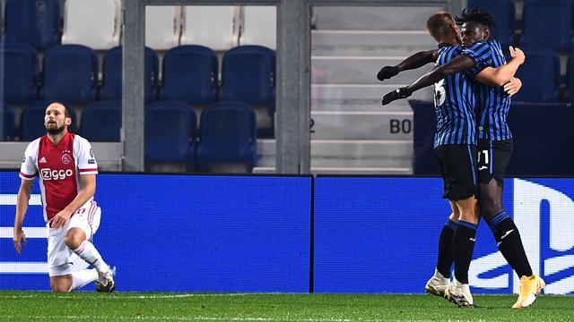 Trainer Gasperini prijst veerkracht Atalanta tegen 'technisch geweldig' Ajax