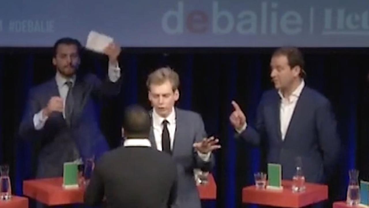 Emoties lopen hoog op in debat tussen Baudet en Asscher