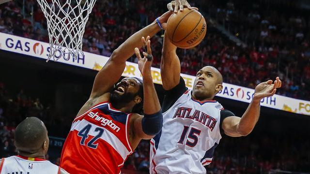 Hawks en Warriors één zege verwijderd van halve finales NBA