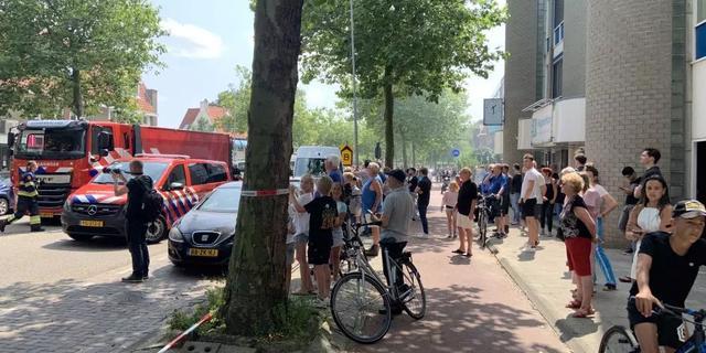 Grote brand aan Rijksstraatweg in Haarlem onder controle